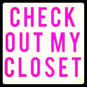 Come on and check out my closet!!